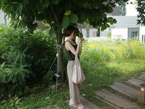 natural linen pants