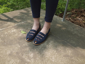image sandal : navy