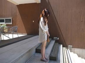 mood mini dress : ivory