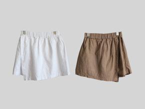 easy skirt pants