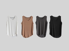 wool sleeveless top
