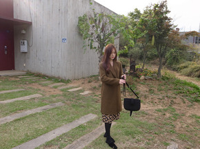 simple handmade coat : camel
