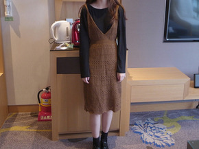 fall knit dress