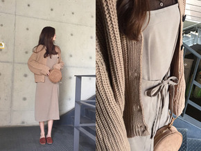 2WAY SUSPENDER OPS : BEIGE