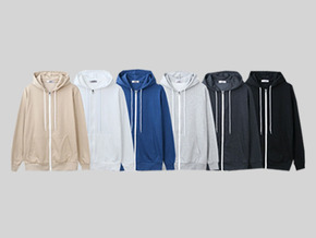 simple hood zip up 1+ 1 EVENT!