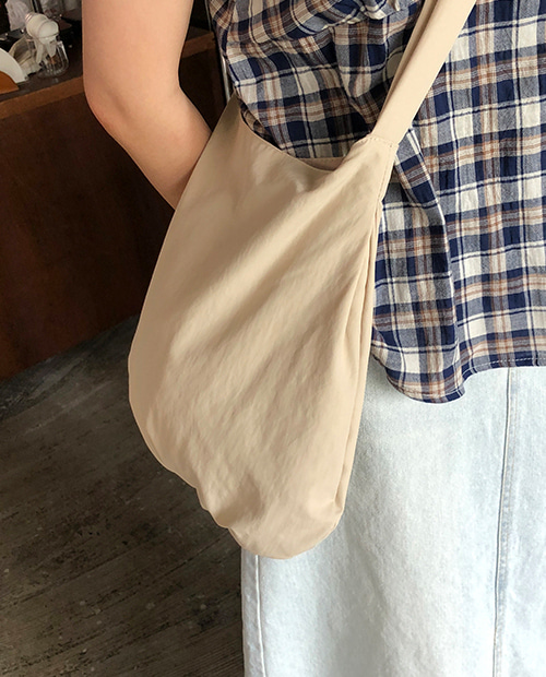 soft shirring bag / 2color