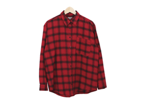 amanda check shirt : red